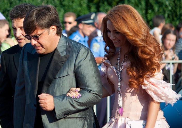 Галантерник разом зі своєю дружиною Наталєю Зінько